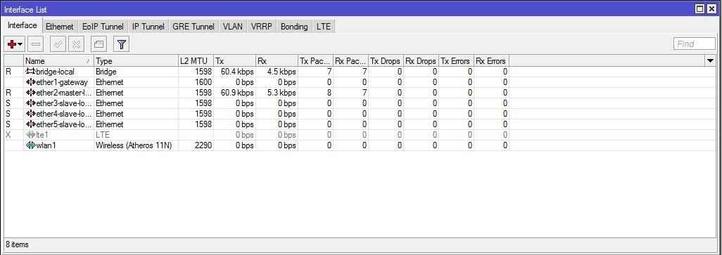 Настройка Mikrotik для работы с LTE